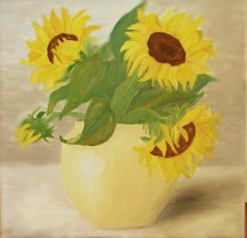 Vas de portelan cu flori 2
